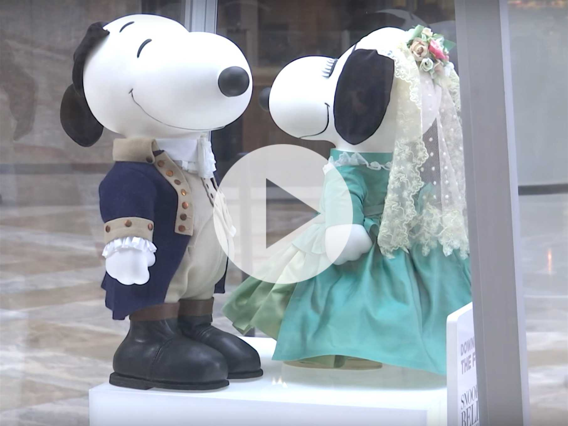 Snoopy Gets a Makeover at New York Fashion Week