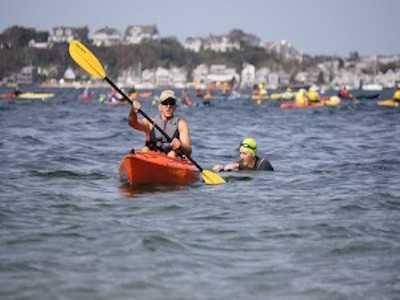Provincetown Celebrates 30th Swim for Life & Paddler Flotilla