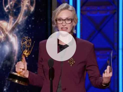 Watch: Jane Lynch Scores Creative Arts Emmy