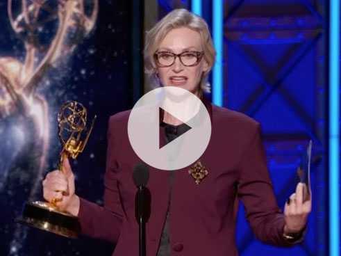 Watch: Jane Lynch Scores Creative Arts Emmy