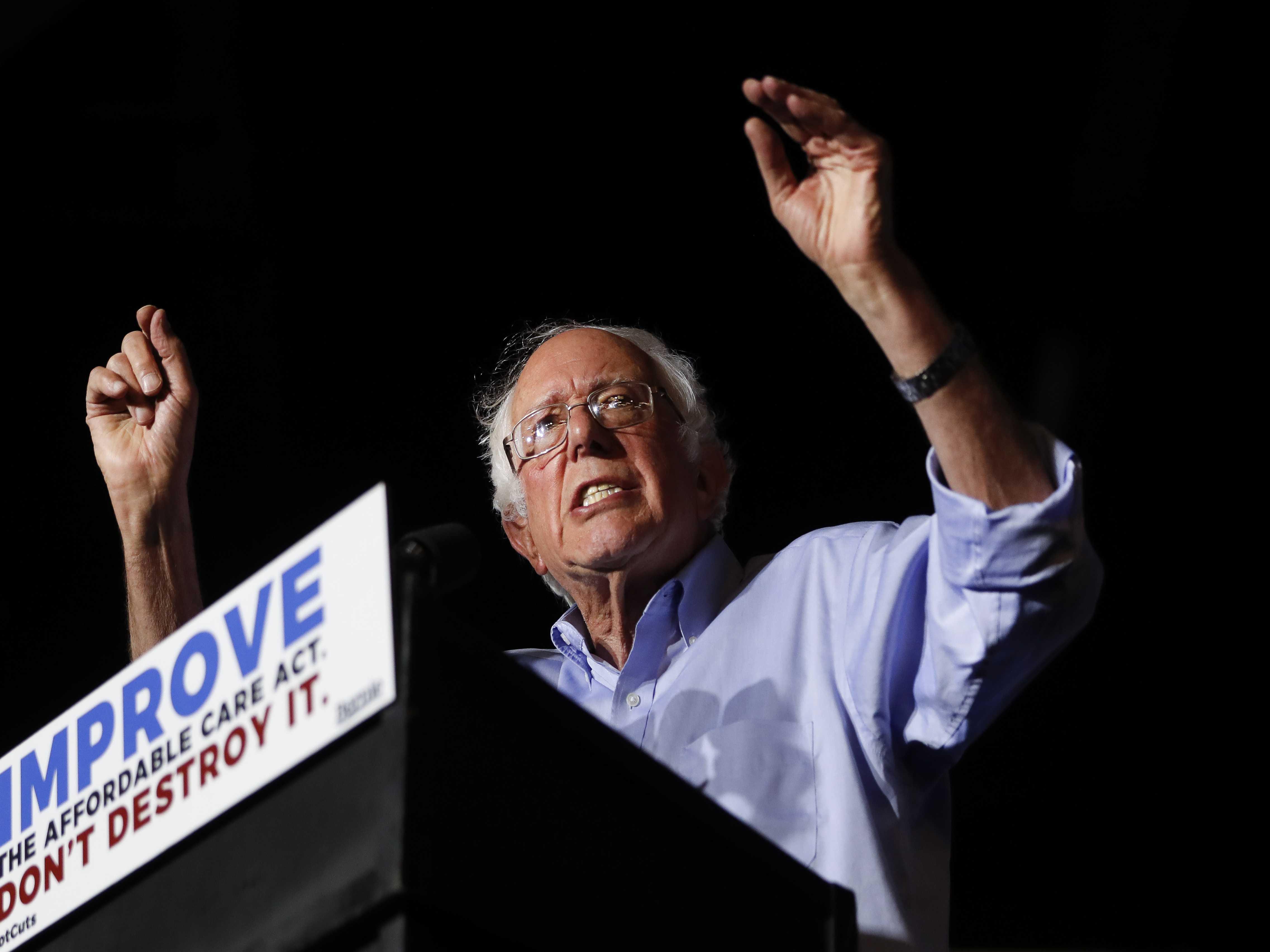 Sanders, GOP Push Banner Health Care Bills