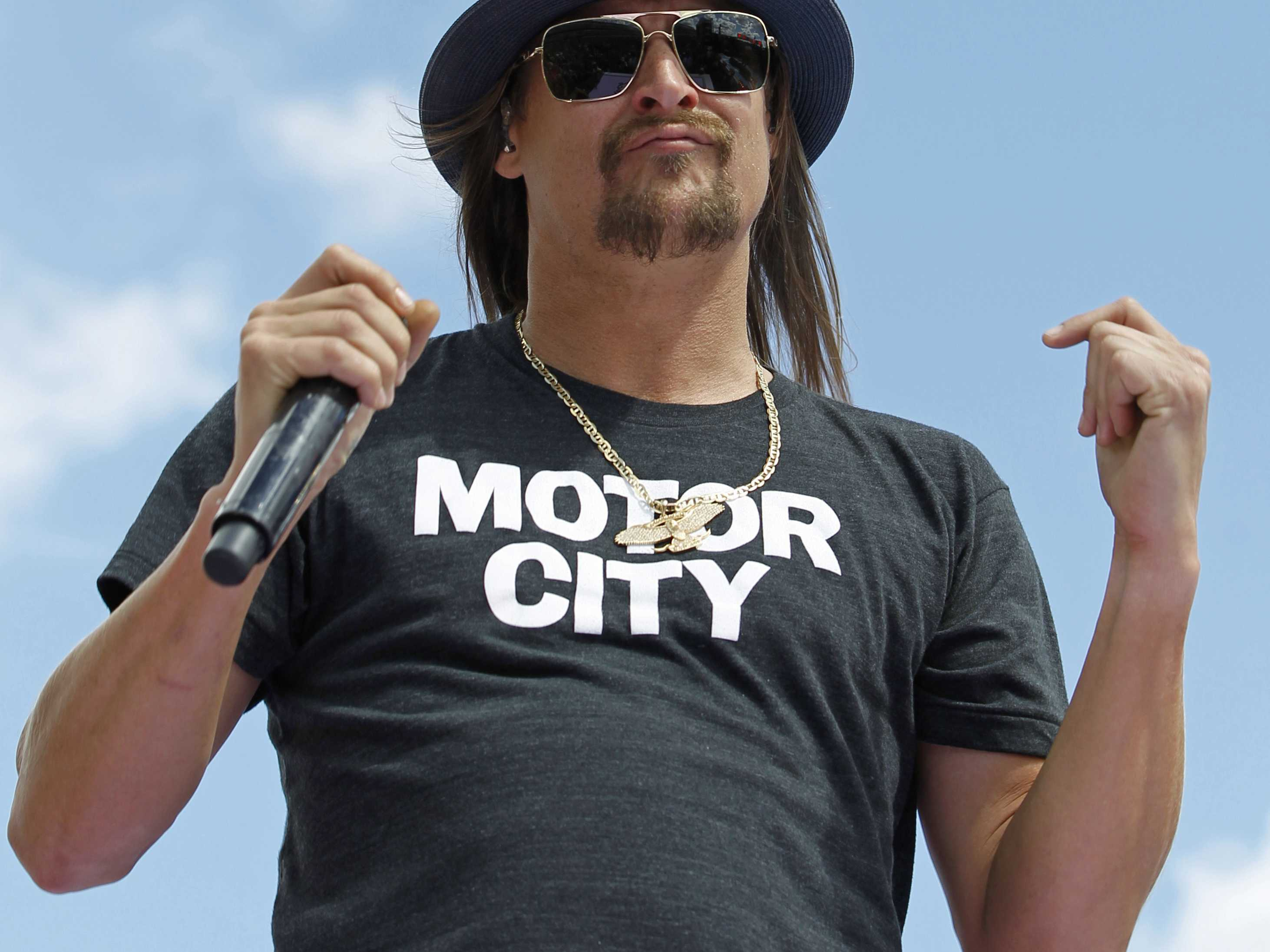 Kid Rock Opens Detroit Arena with No Political Announcement