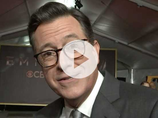 Colbert: 'The Biggest TV Star Of The Year Is Trump'