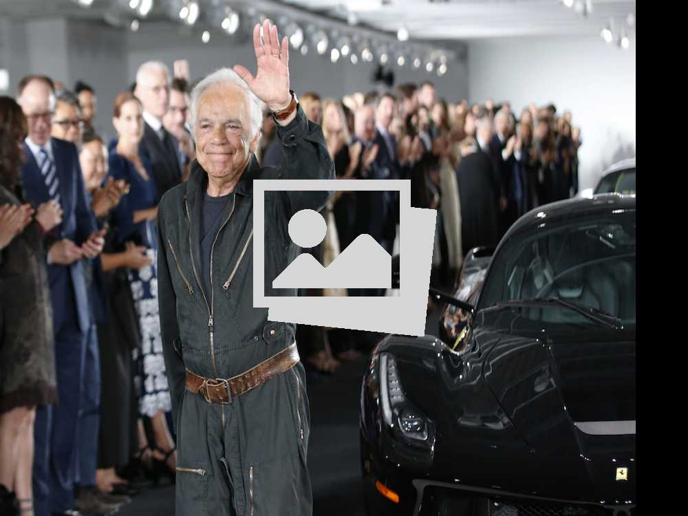High Gear: A Closer Look at Ralph Lauren's NY Fashion Week Show