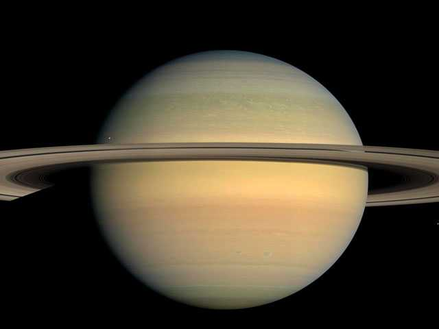 NASA's Cassini Spacecraft at Saturn Nears Fiery Finale