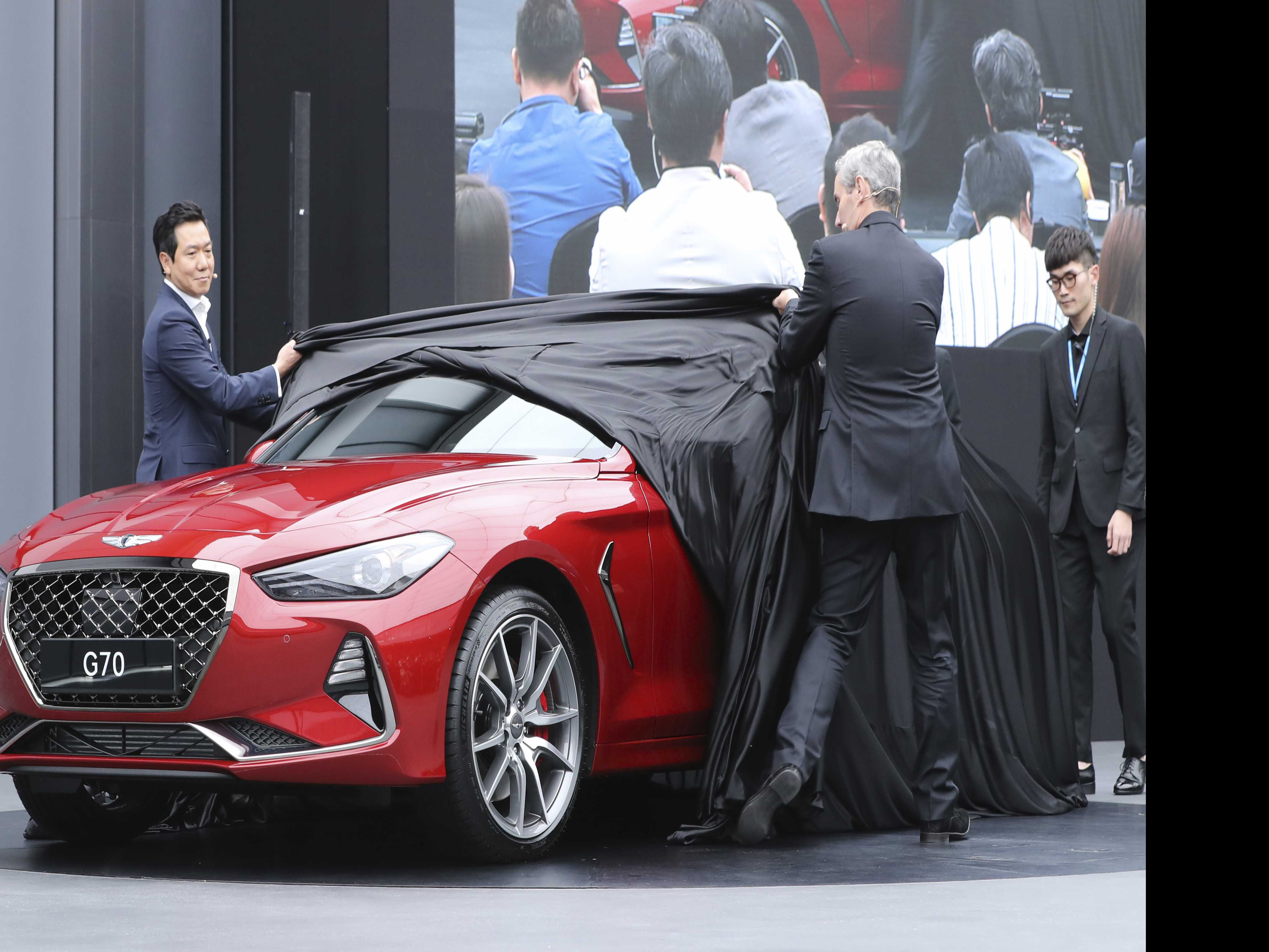 Hyundai Motor to Launch Genesis Midsize Sedan in U.S. in 2018