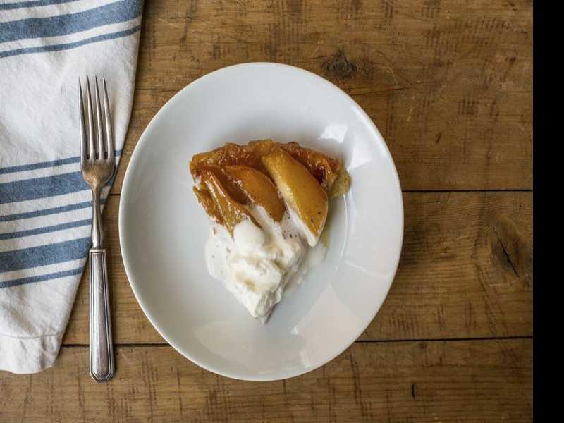 Cooking on Deadline: Pear Tarte Tatin
