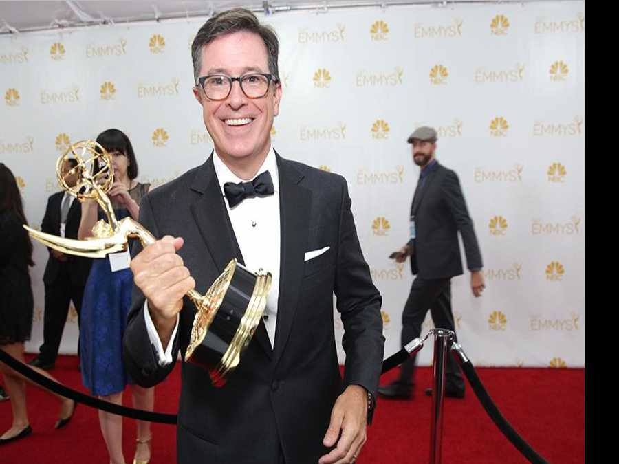 Sunday's Emmys Is About Winners, Politics, A Cheeky Colbert