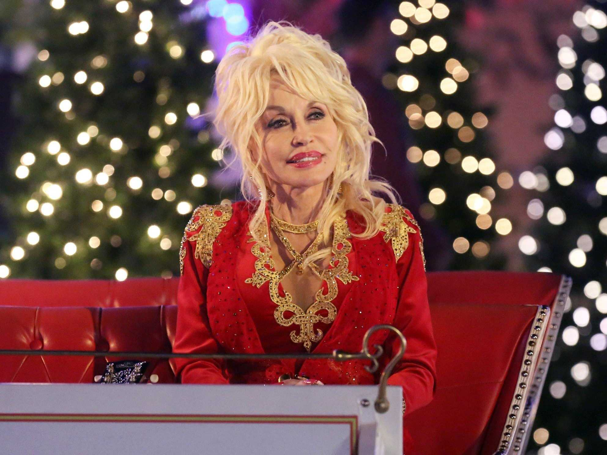 Emmy Nominee Dolly Parton Still Gets A Kick Out Of Hollywood