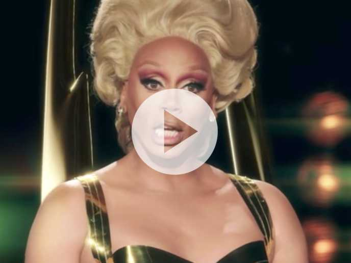 Watch: RuPaul Makes Surprising Appearance in Emmy's Skit