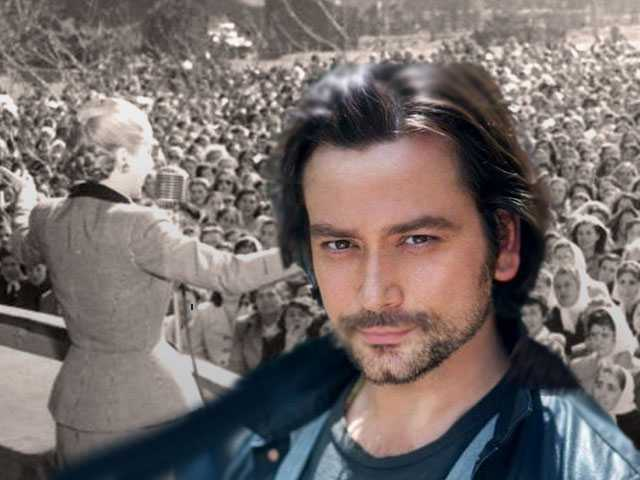 Constantine Maroulis On Playing Che in 'Evita': 'I Am a Theater Geek!'