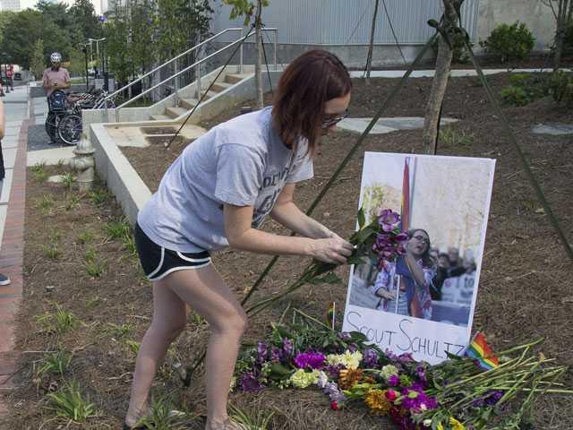 Post-Vigil Protest for Slain LGBTQ Activist; 3 Arrests