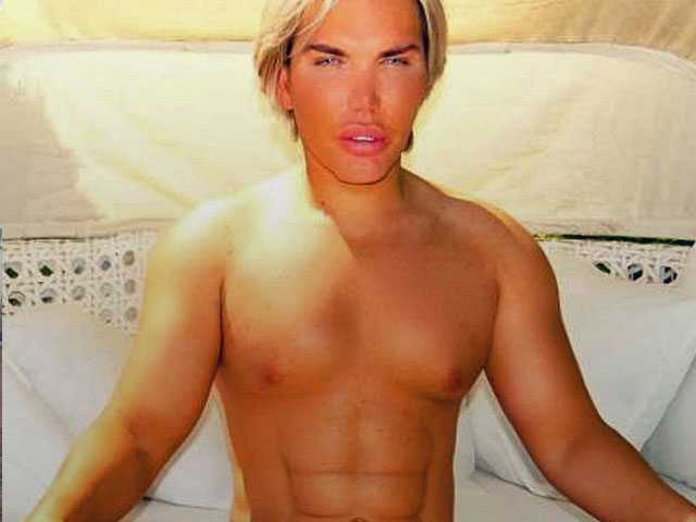 'Human Ken Doll' Says He was Drugged & Robbed by Prostitutes