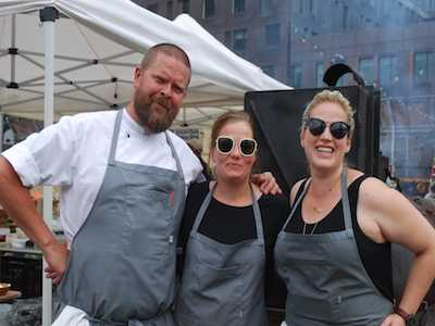 Chef Kamilla Seidler Co-Presents Danish Picnic Pop-Up in NYC