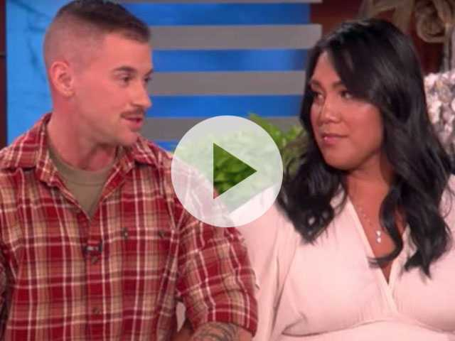 Watch: Ellen Talks with Transgender Military Couple, Gives Them Incredible Surprise
