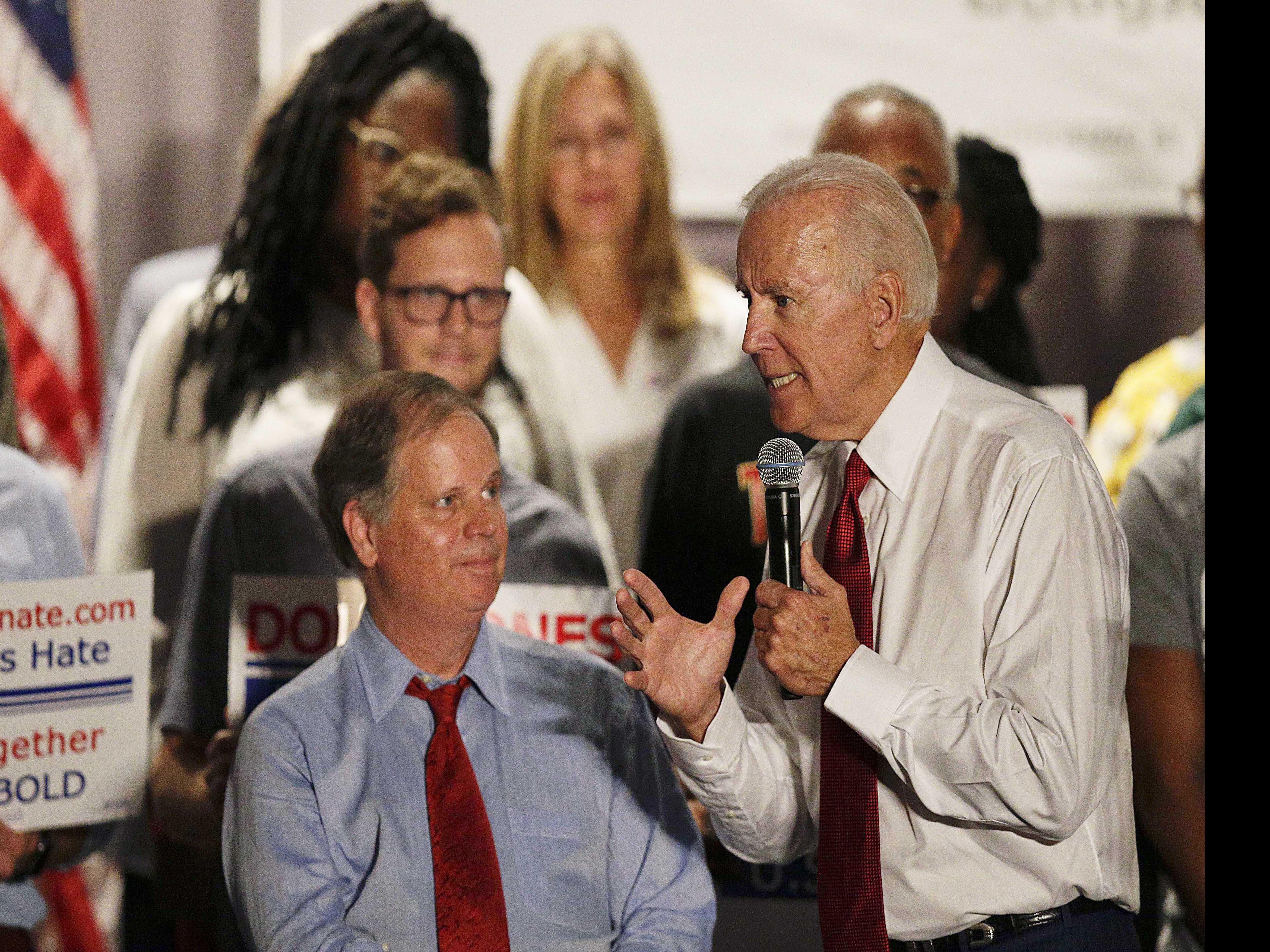Biden in Alabama to Campaign for Democrat Jones for Senate