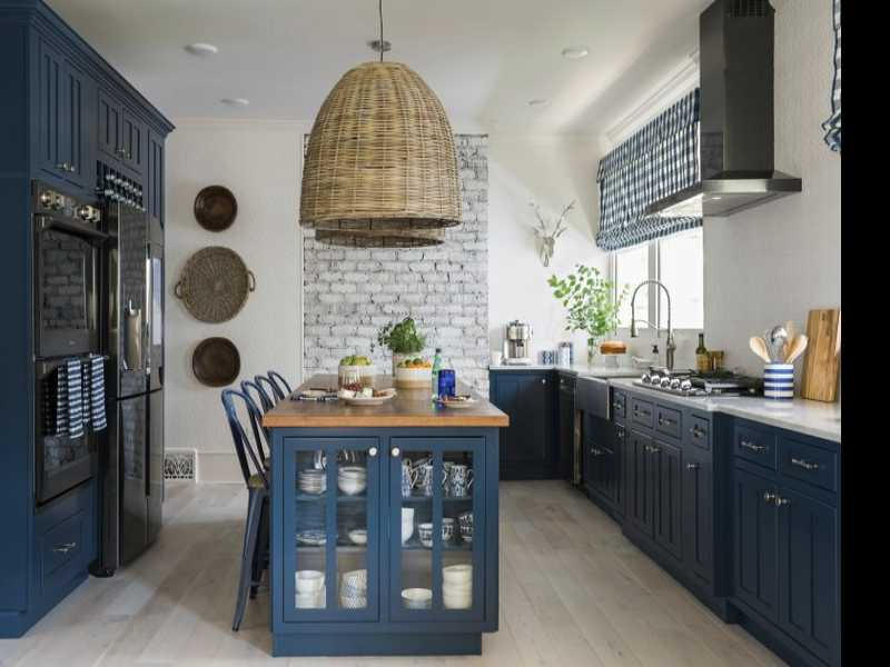 Kitchens Go Bold With Colorful Cabinets
