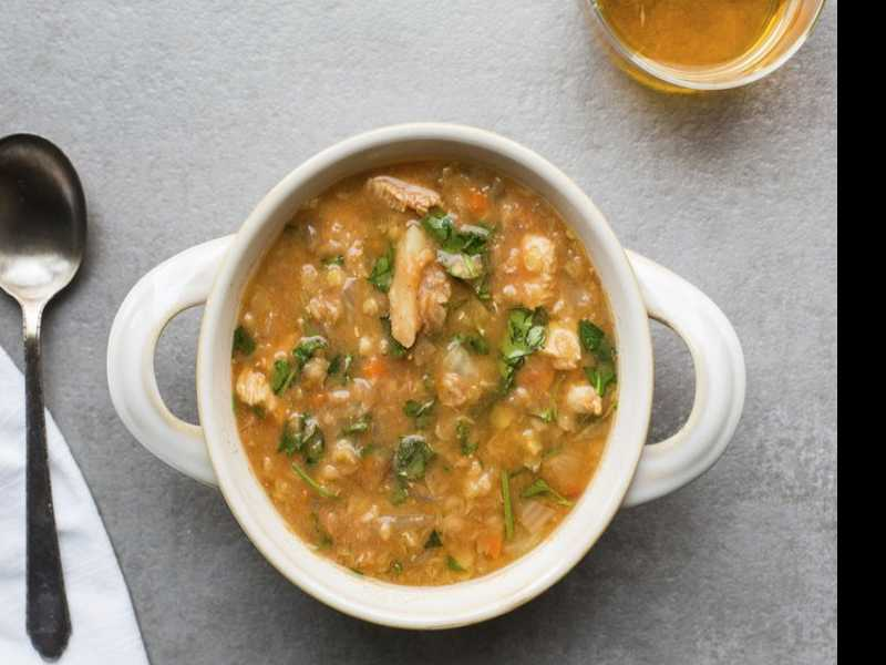 Recipe: Red Lentil and Chicken Slow-Cooker Soup