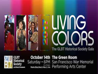 GLBT Historical Society's 'Living Color' Gala Celebrates Gilbert Baker