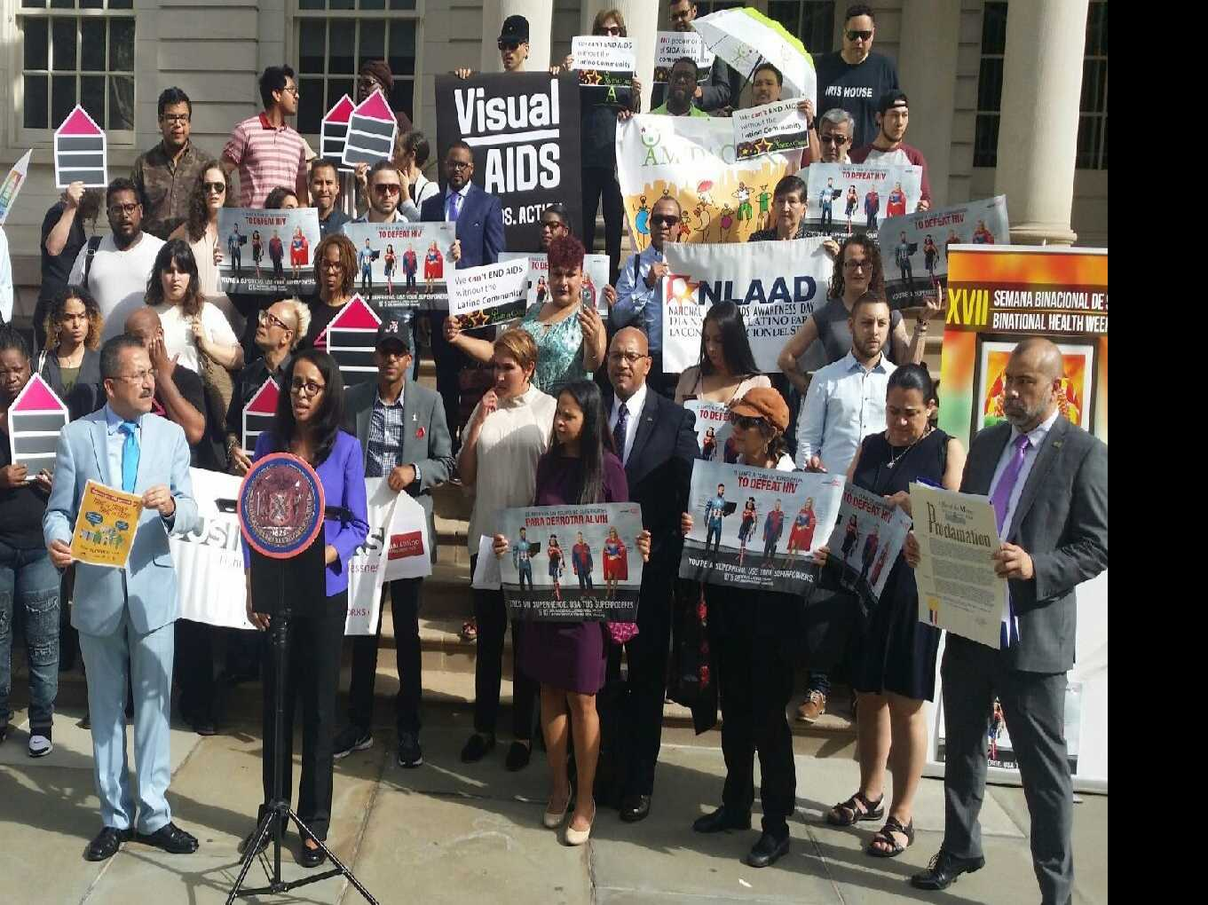 Communities Across Country Commemorate National Latino AIDS Awareness Day 2017