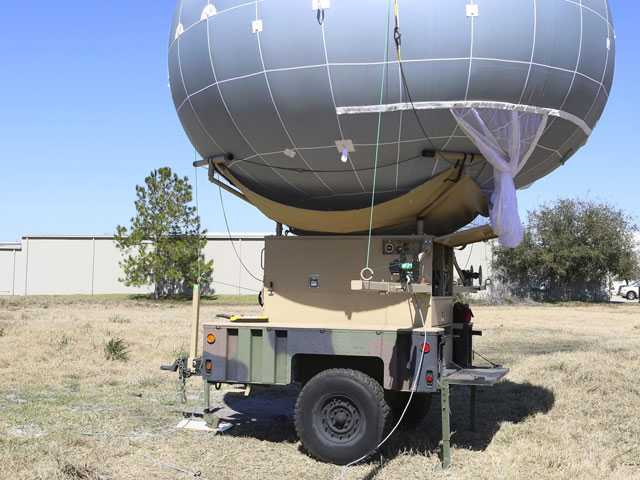 Border Patrol Tests Camera-Toting Balloon