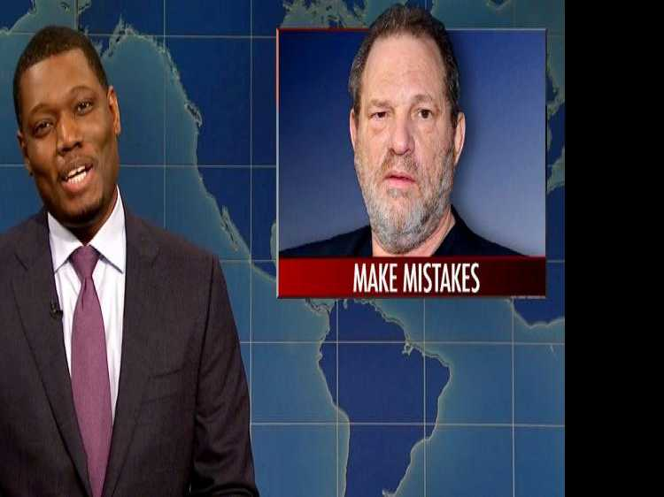 'SNL' Gave Passing Notice to Fallen Mogul Harvey Weinstein