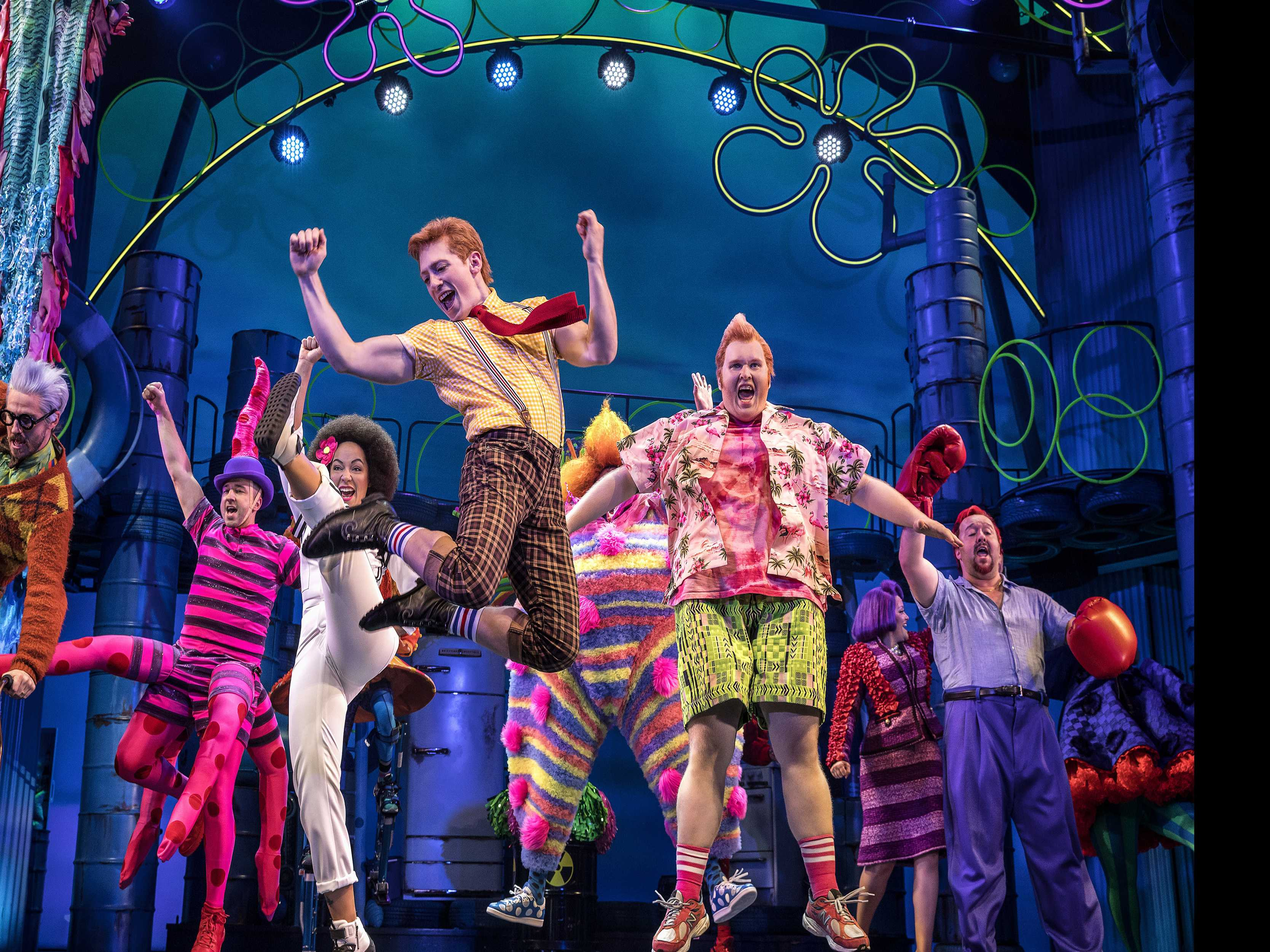 Review :: SpongeBob SquarePants: The Broadway Musical