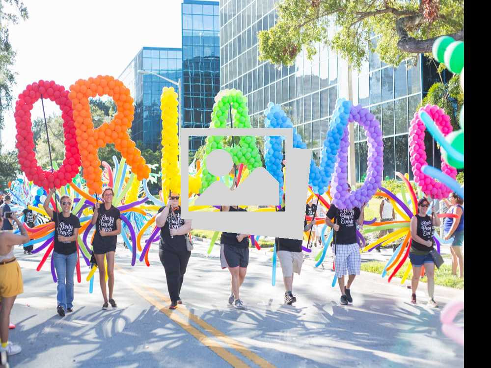 Orlando Pride : The Most Colorful Parade :: October 14, 2017