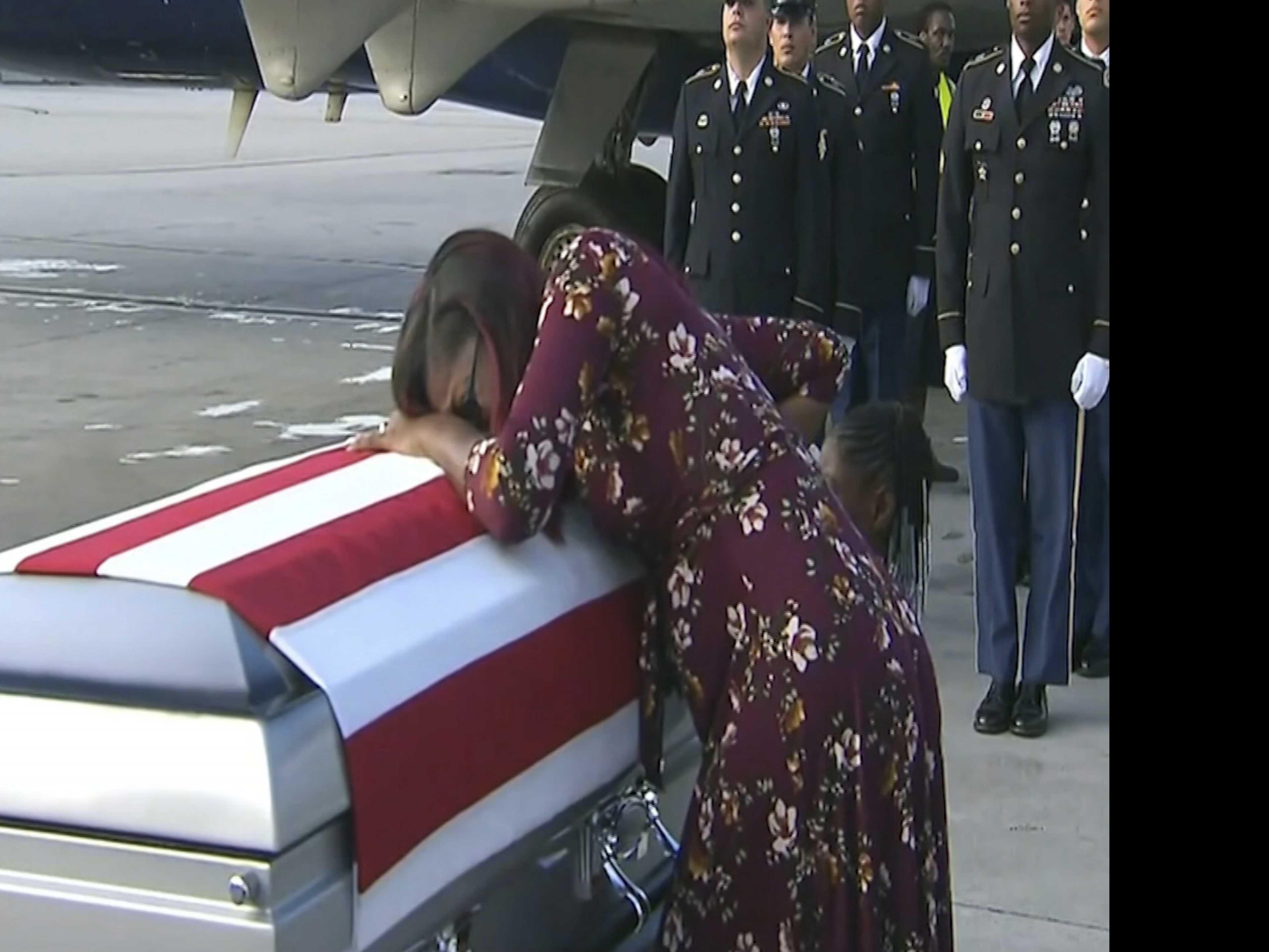 Family of Slain Sergeant Says Trump Showed 'Disrespect'