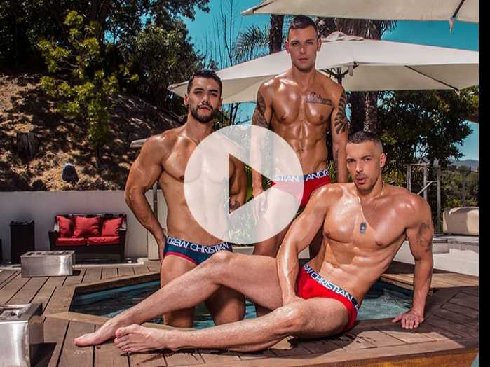 Watch: Andrew Christian's Show-It Sports Collection