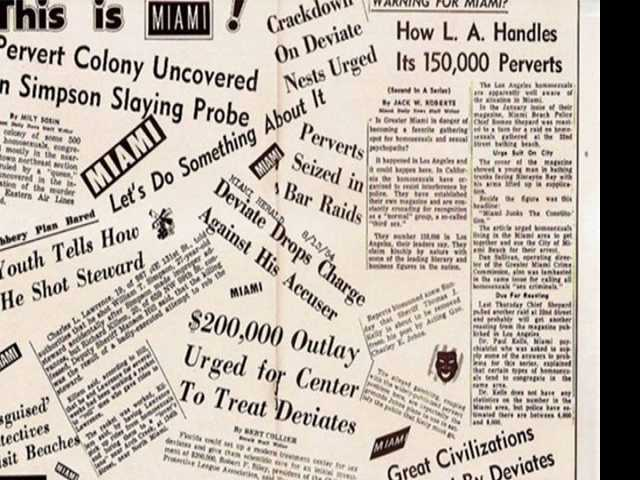 1954 Miami Murder Leads to 'Homosexual Panic'