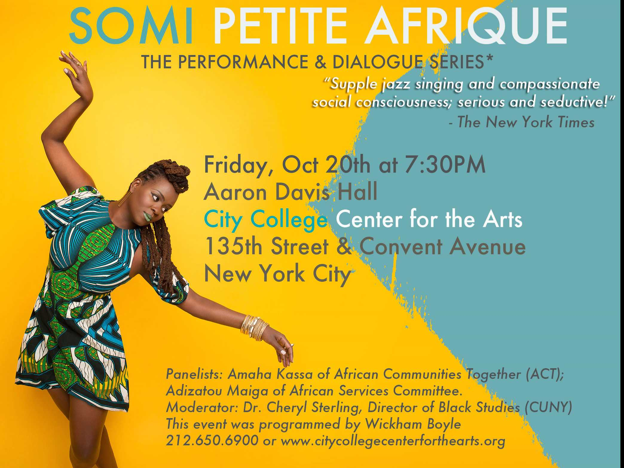 Somi Petite Afrique Brings Supple Jazz Stylings to Harlem