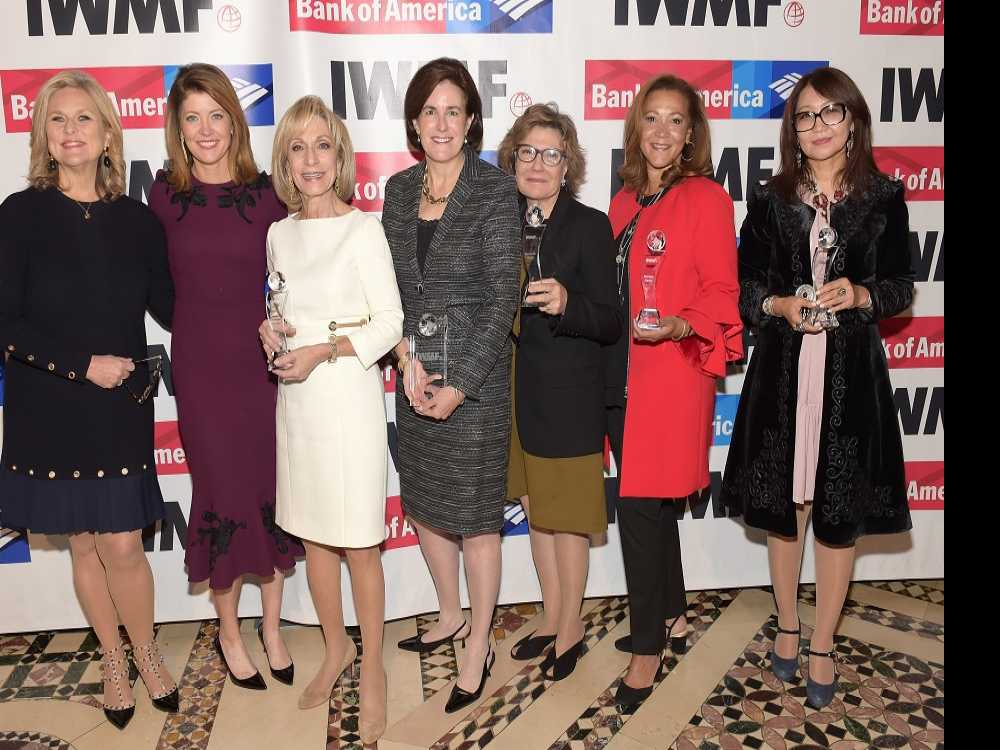 IWMF Honors Exemplary Female Journalists at  2017 Courage in Journalism Awards in NYC