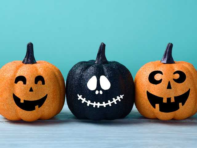 Whichcraft: 3 Ways to Fix Up Faux Pumpkins