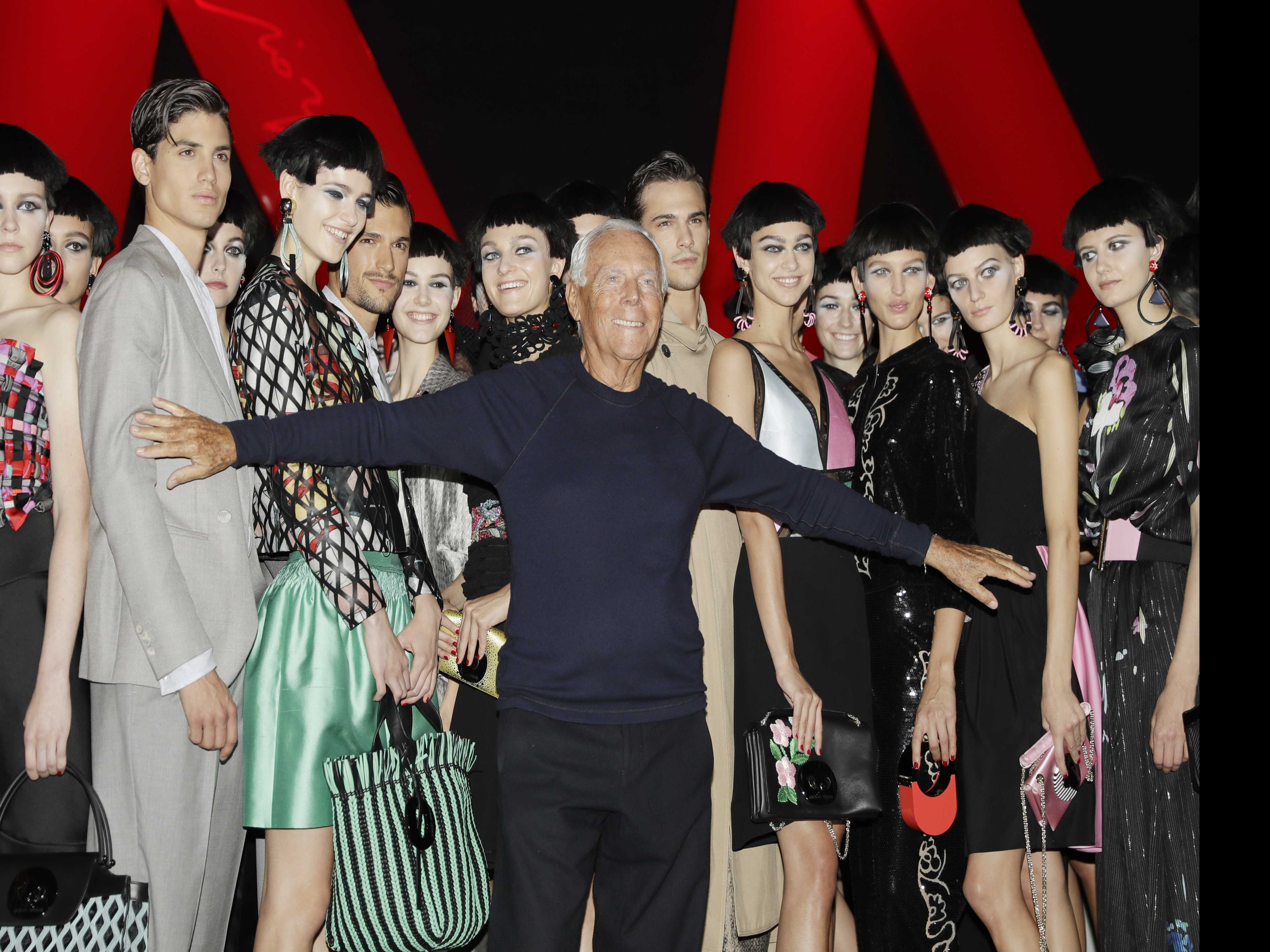 Armani's Succession Plan