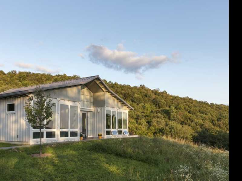 Cargo Containers Gain Steam as Building Blocks of New Homes