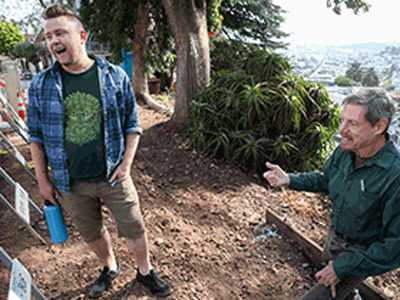 Corbett Heights Residents Spruce Up Petite Parks