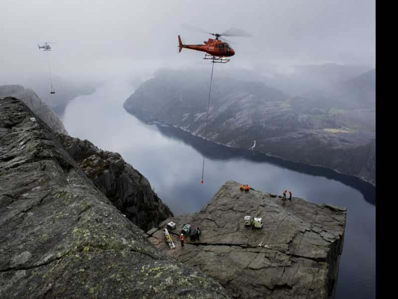 'Mission Impossible' to Shoot at Famed Norway Tourist Site