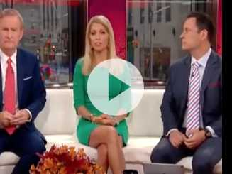 Watch: 'Fox & Friends' Host Claims Proximity to Jesus Makes Church the Best Place to Get Shot