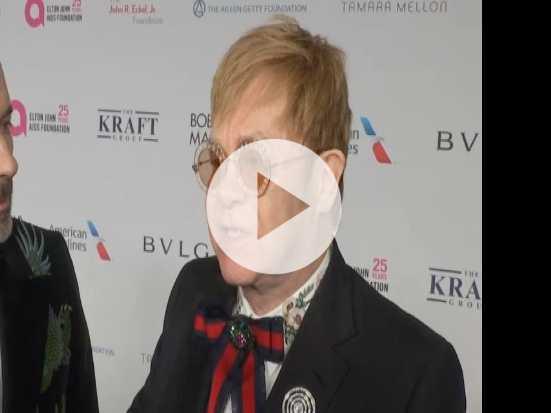 Sting, Joel, More Celebrate Elton John AIDS Foundation
