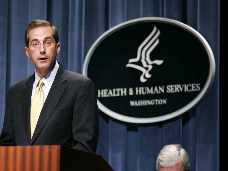 Drain the What? Trump Names Former Drug Exec as New Health Secretary