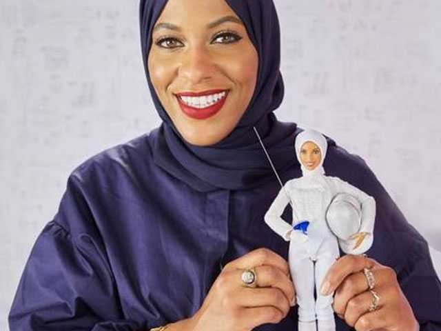 US Olympic Fencer Provides Inspiration for First Hijab-Wearing Barbie