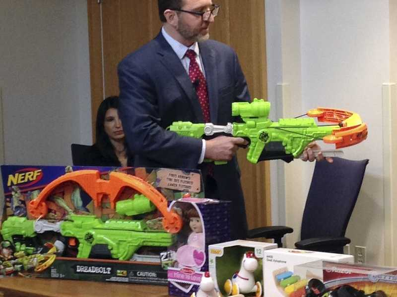 Consumer Safety Group Unveils Its Worst Toys List