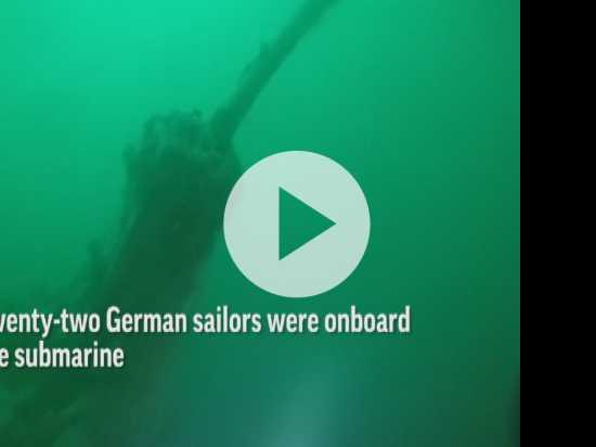 WW1 German Submarine Found off Belgian Coast
