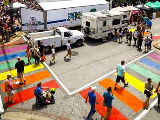 Official Says Rainbow Crosswalk in Kentucky Poses Safety Hazard