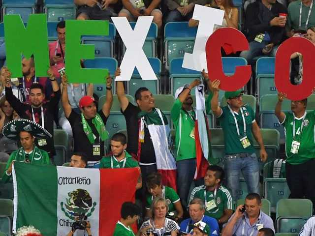 CAS Rules FIFA Wrong to Fine Mexico for Fans' Gay Slur Chant