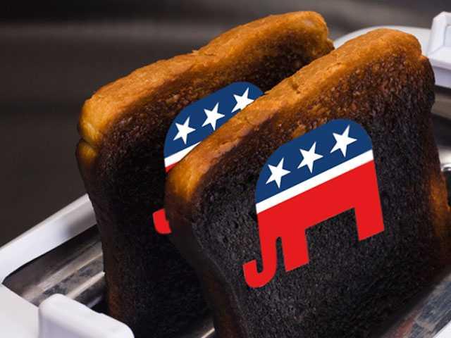 Sen. Flake Says GOP is 'Toast' if it Follows Trump, Moore