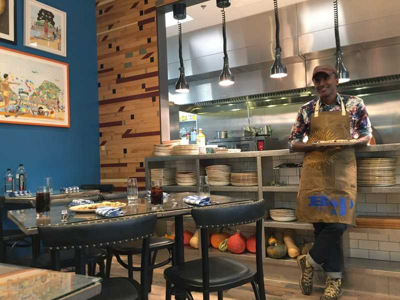 Celeb Chef Marcus Samuelson Opens Newark Restaurant