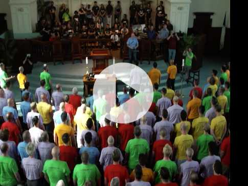 Watch: 30 Years After Being Run Out of His Church, This Choir Director Returned with 300 Friends