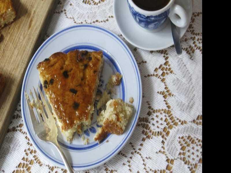 Recipe: Apricot Almond Coffee Cake